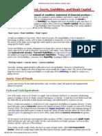 Bank Balance Sheet_ Assets, Liabilities, And Bank Capital