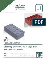 1. Solidworks Tutorial - Lego Car
