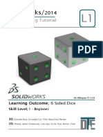 3. Solidworks Tutorial - Dice