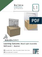 2. Solidworks Tutorial - Mood Light