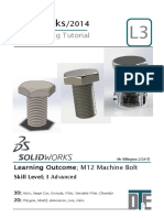 9. Solidworks Tutorial - Bolt