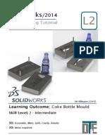 10. Solidworks Tutorial - Coke Mould