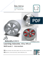 11. Solidworks Tutorial - Alloy Wheel
