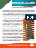 CDH- La Disyuntiva en La Universalizacion de Los DDHH