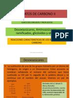 Hidratos de Carbono II 2013