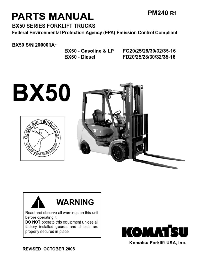 Komatsu 25 Forklift Light Wiring Diagram Library Pc78 Diagrams Bx50 For Switch U2022 Fg25t Fork Lift