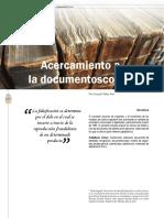Acercamineto a La Documentoscopia