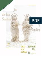 Programa de las Fiestas y Romería de Las Santas