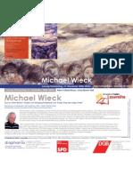 Michael Wieck, Schwaebisch-Haller Lesesreihe
