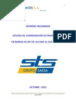 Informe de Coordinación de Protecciones en Barras de MT de Las SSEE Al Sur de Ancud, Rev E
