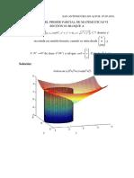 Solución Del Primer Parcial de MatemáticasVI a Marzo Junio 2016