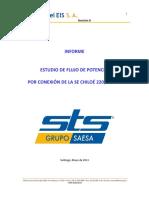 Informe Estudio de Flujo de Potencia Por Conexión de La SE Chiloé, Rev D