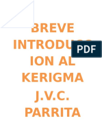 Breve Introduccion Al Kerigma