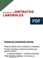 3. Contratos de Trabajo