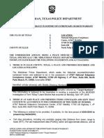 ATT Warrant - Dated April 25