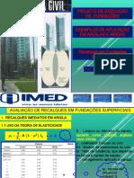 Presentación fundações IMED