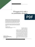 Dialnet - El Lenguaje De La Radio Y Sus Posibilidades Educativas