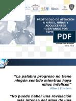 """Presentación """"Protocolo de Atención de Niños, Niñas y Adolescentes Víctimas de Feminicidios"""""""