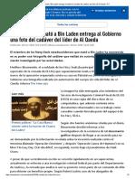 El Soldado Que Mató a Bin Laden Entrega Al Gobierno Una Foto Del Cadáver Del Líder de Al Qaeda - RT