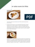 Cómo hacer salsa suave de Alitas de pollo.docx