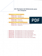 European Framework Summary