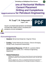 CFD Simulations of Horizontal Wellbore Cleaning