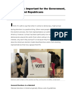 voter turnout important for both the government and political parties