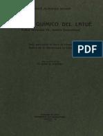 Latue - Estudio Quimico Del Latue - MC0059612