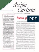 Acción Carlista 4º Trimestre 1985