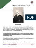 """Pedro Lira (1845-1912) y la """"Fundación de Santiago"""""""