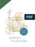 MA SaisonMusicale 20162017