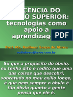 DOCÊNCIA DO ENSINO SUPERIOR.ppt