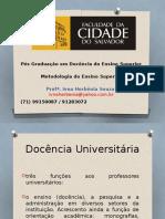 Docencia Da Educação Superior