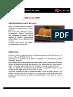 Las Recetas de La Pera Limonera_2013 03 Al 7 de Junio