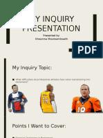 my inquiry presentation
