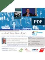 Prof. Dr. Karl-Heinz Meier-Braun liest in der Stuttgarter Lesereihe
