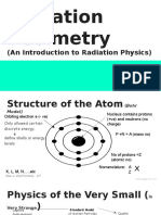 Radiation Dosimetry (an Introduction to Radiation Physics)