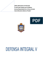Sistema de Defensa Integral