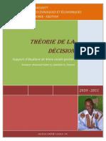 Theorie de La Decision