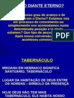TABERNÁCULO-MEU NÍVEL DE INTIMIDADE COM O ETERNO