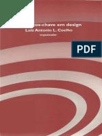 Conceitos-chave Em Design - Luiz Antonio l. Coelho