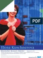 Elena Kuschnerova Klassisches Konzert