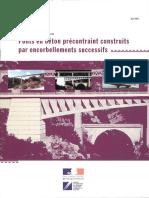 Ponts en Béton Précontraint Construits Par Encorbellements Successifs. Gc (Jui 2003)