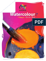 Watercolour Lesson Book