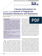 Tapping soil survey information for rapid assessment of sagebrush ecosystem resilience and resistance