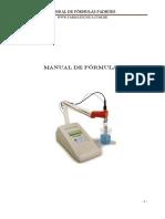 Manual de Formulas