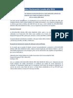 Informativo Proceso 2016