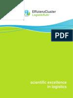 832 Scientific Excellence in Logistics