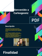 Texto Promocional - Carlos Goonz