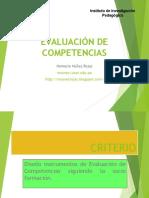Evaluacion de Competencias 2015